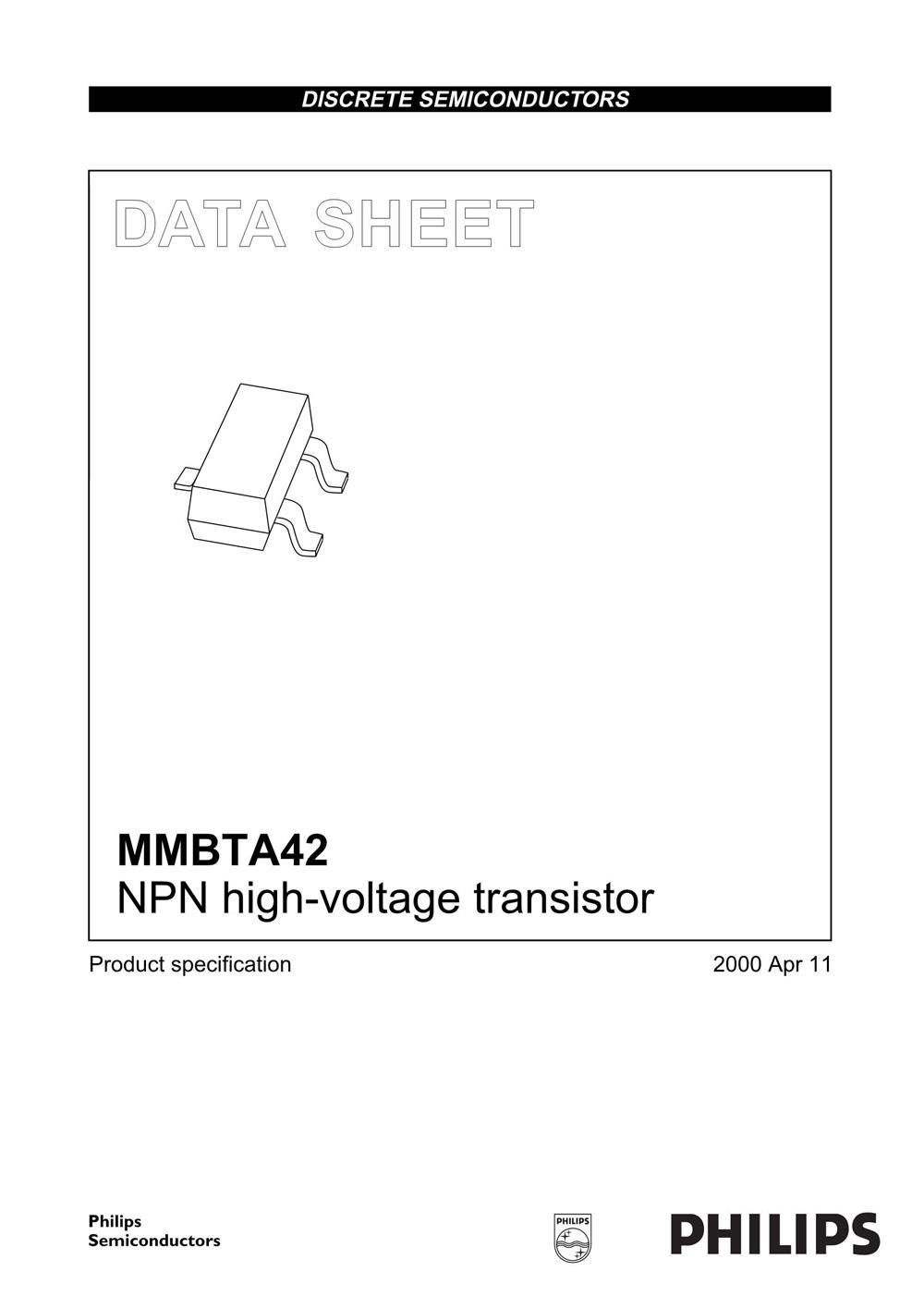 MMBTA42's pdf picture 1