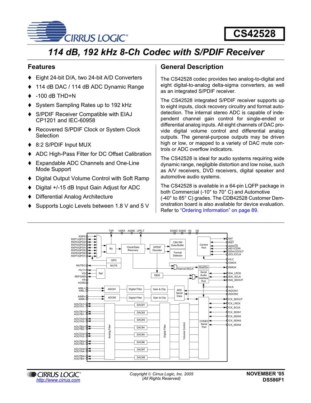 CS42528-CQZ's pdf picture 1