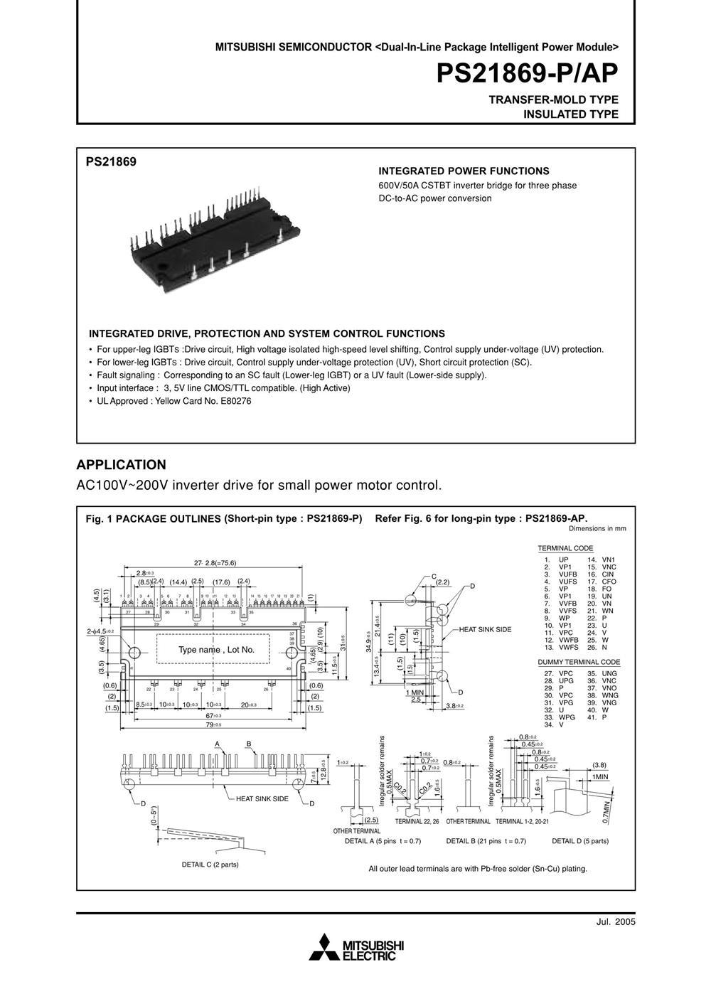 PS21869-AP's pdf picture 1