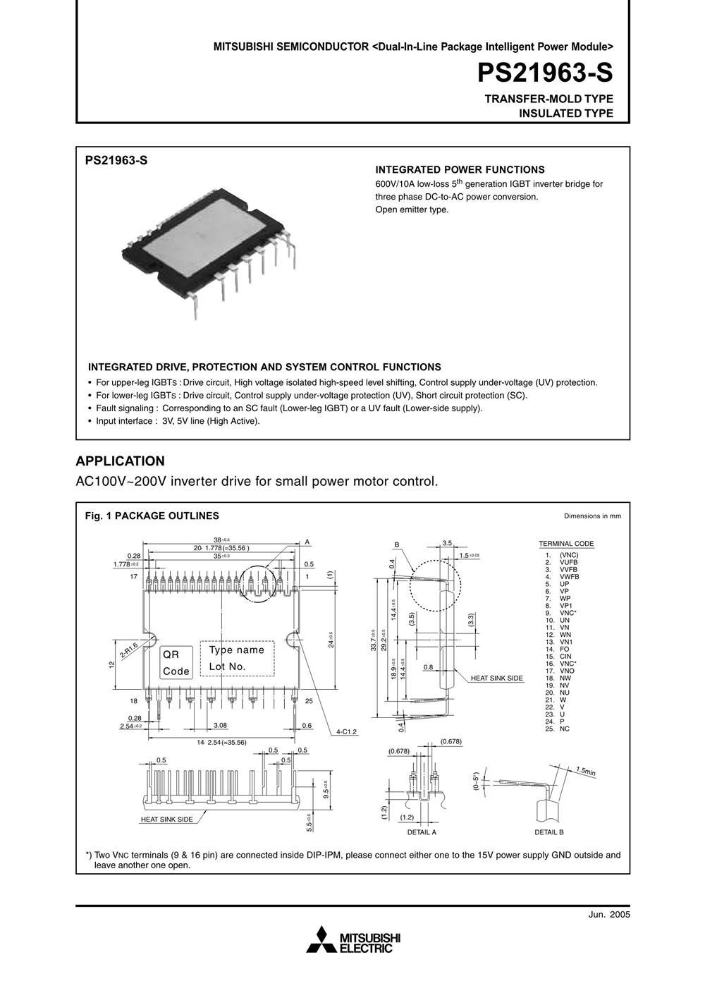 PS21963-S's pdf picture 1