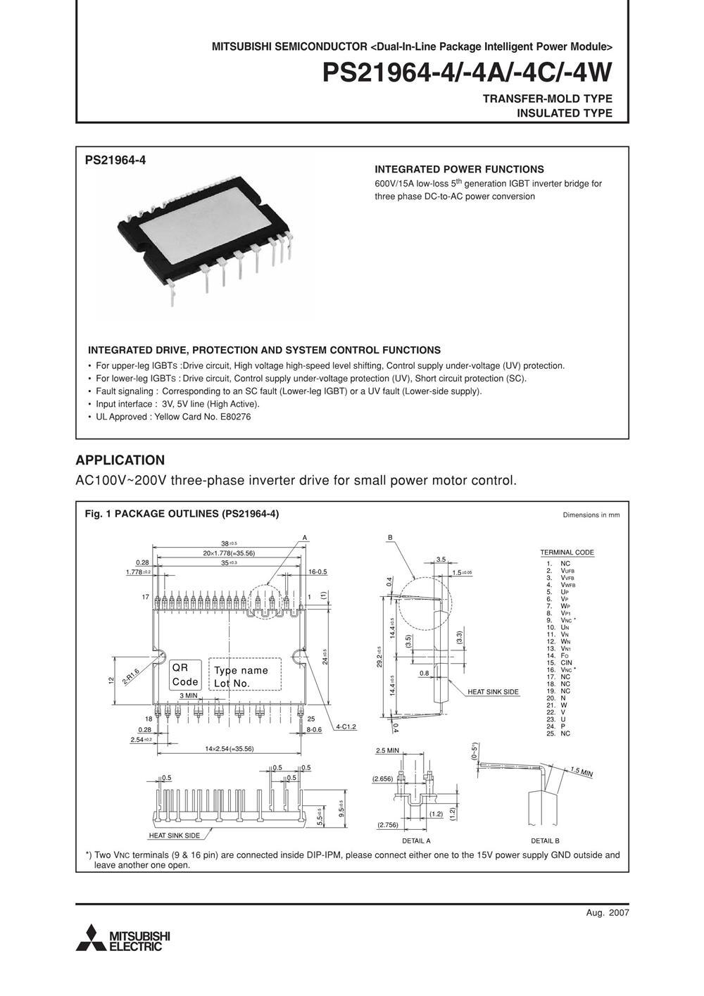 PS21964-4C's pdf picture 1