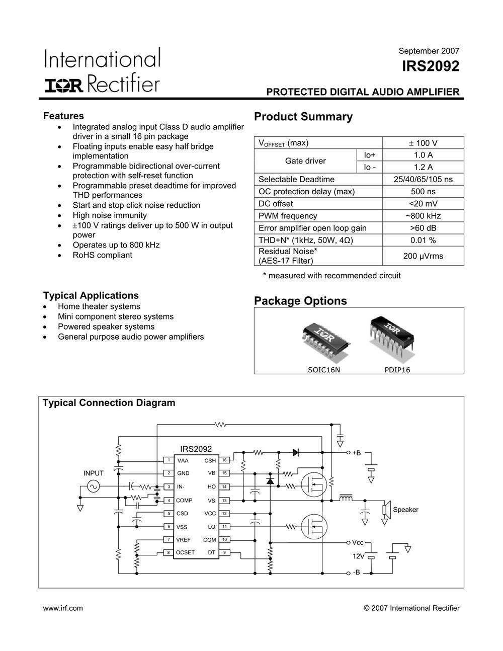 IRS2092S's pdf picture 1