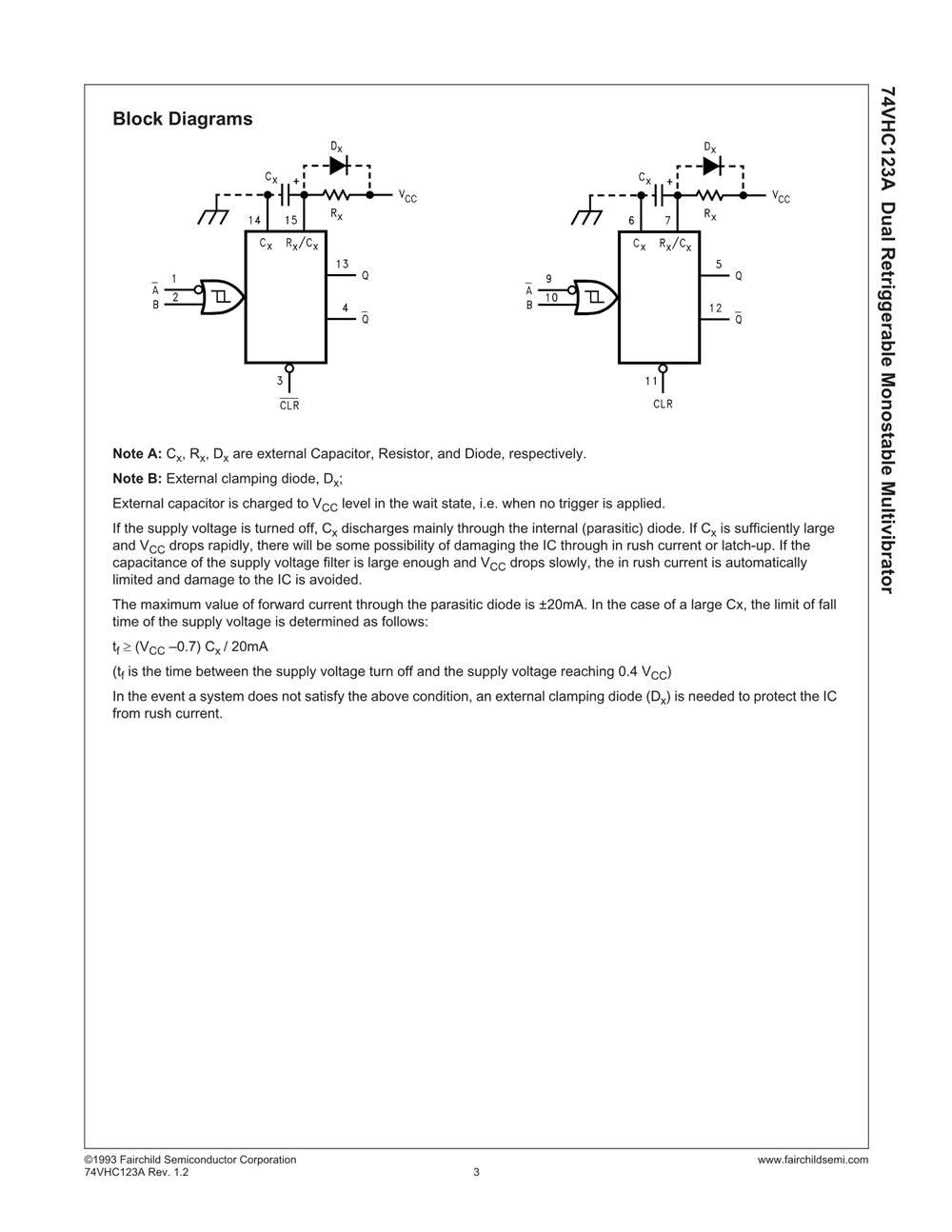 74VHC123AM's pdf picture 3