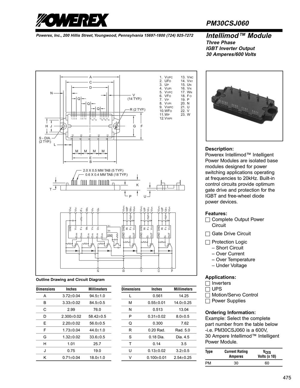 PM30CSJ060's pdf picture 1