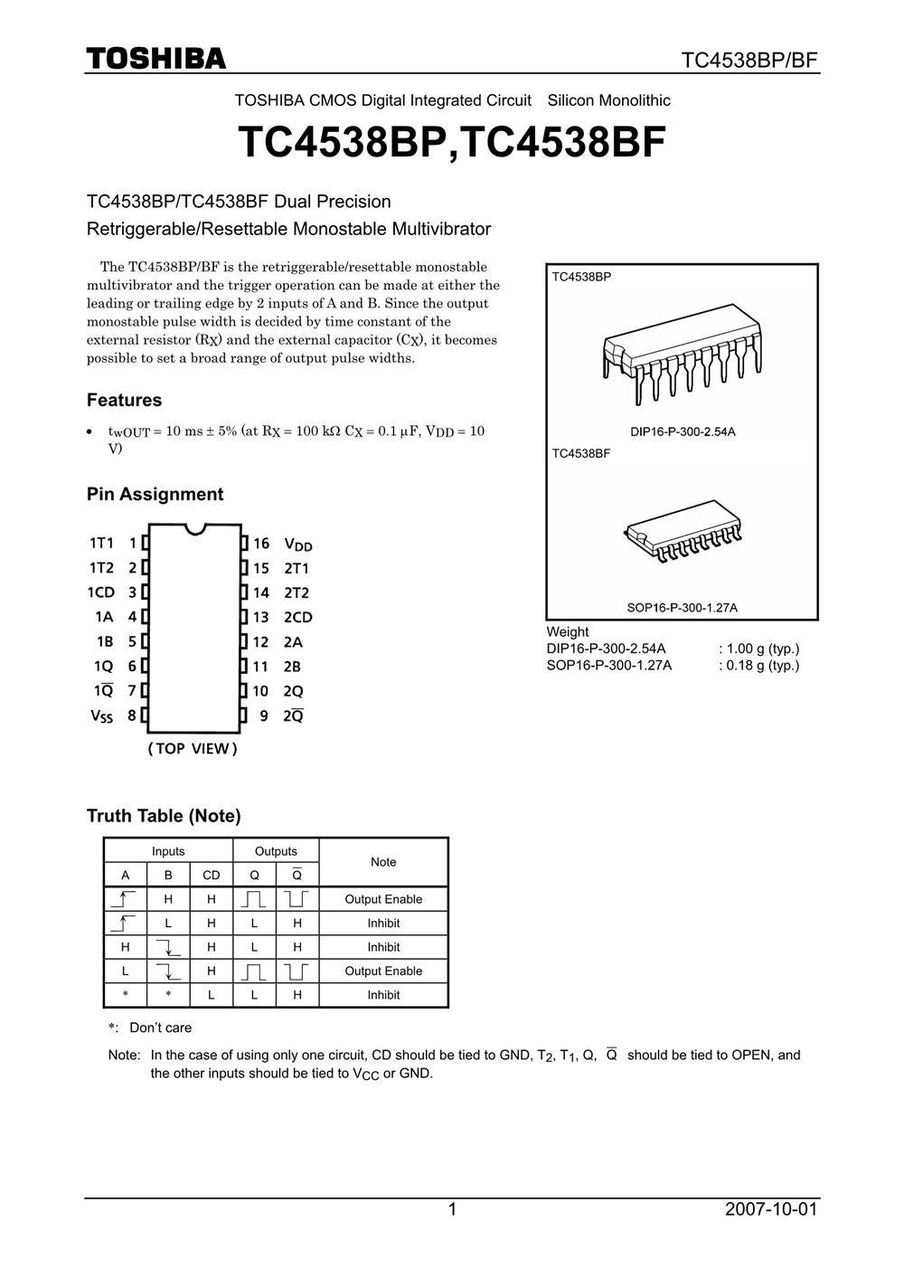 TC4538BP's pdf picture 1