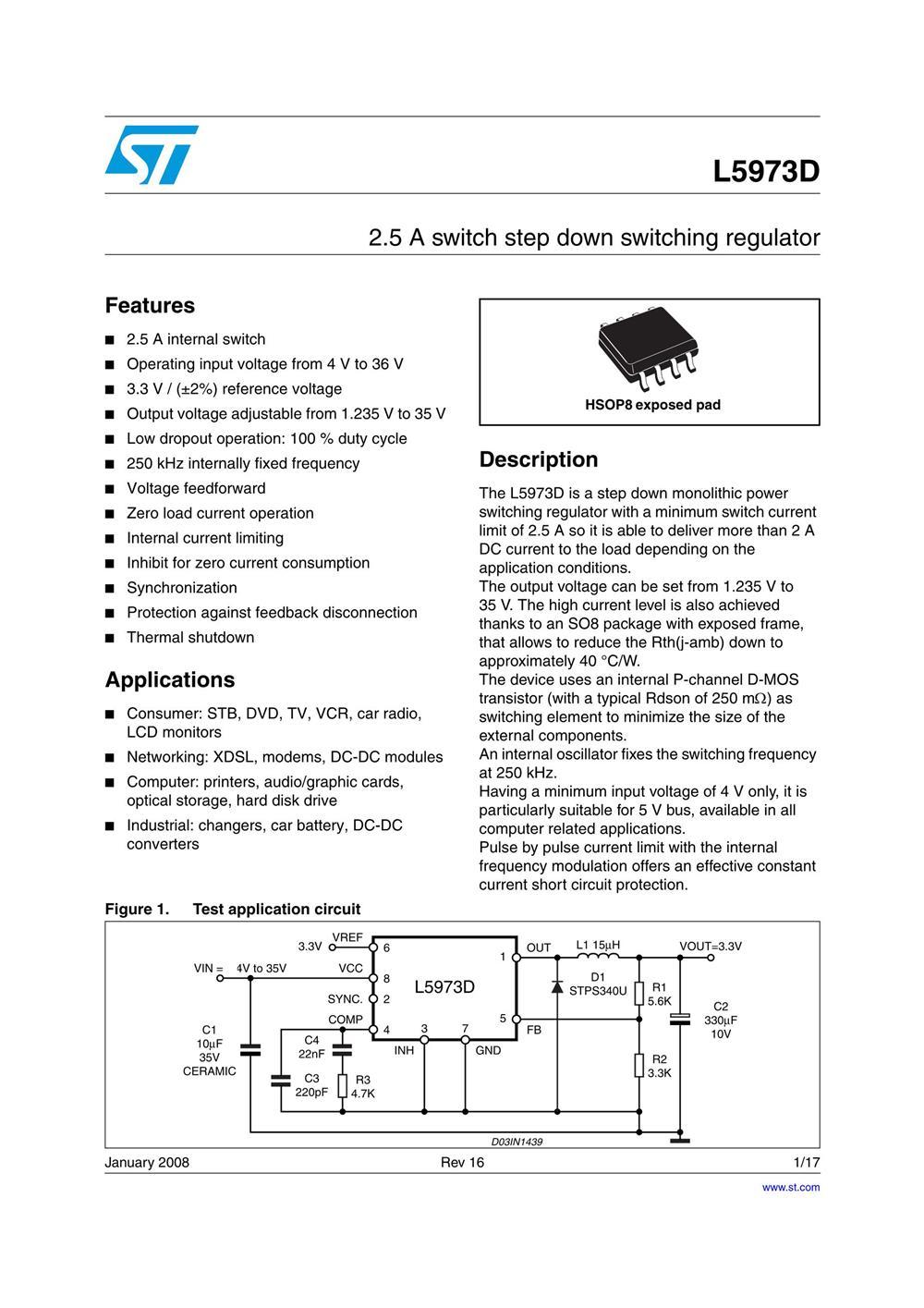 L5973D013TR's pdf picture 1