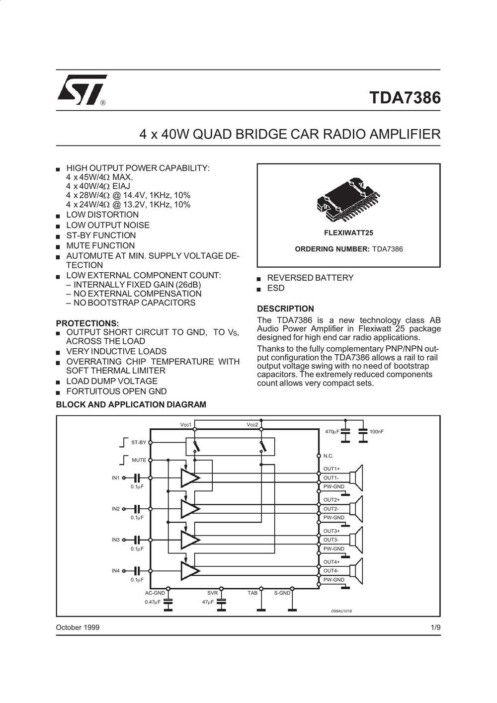 TDA7386's pdf picture 1