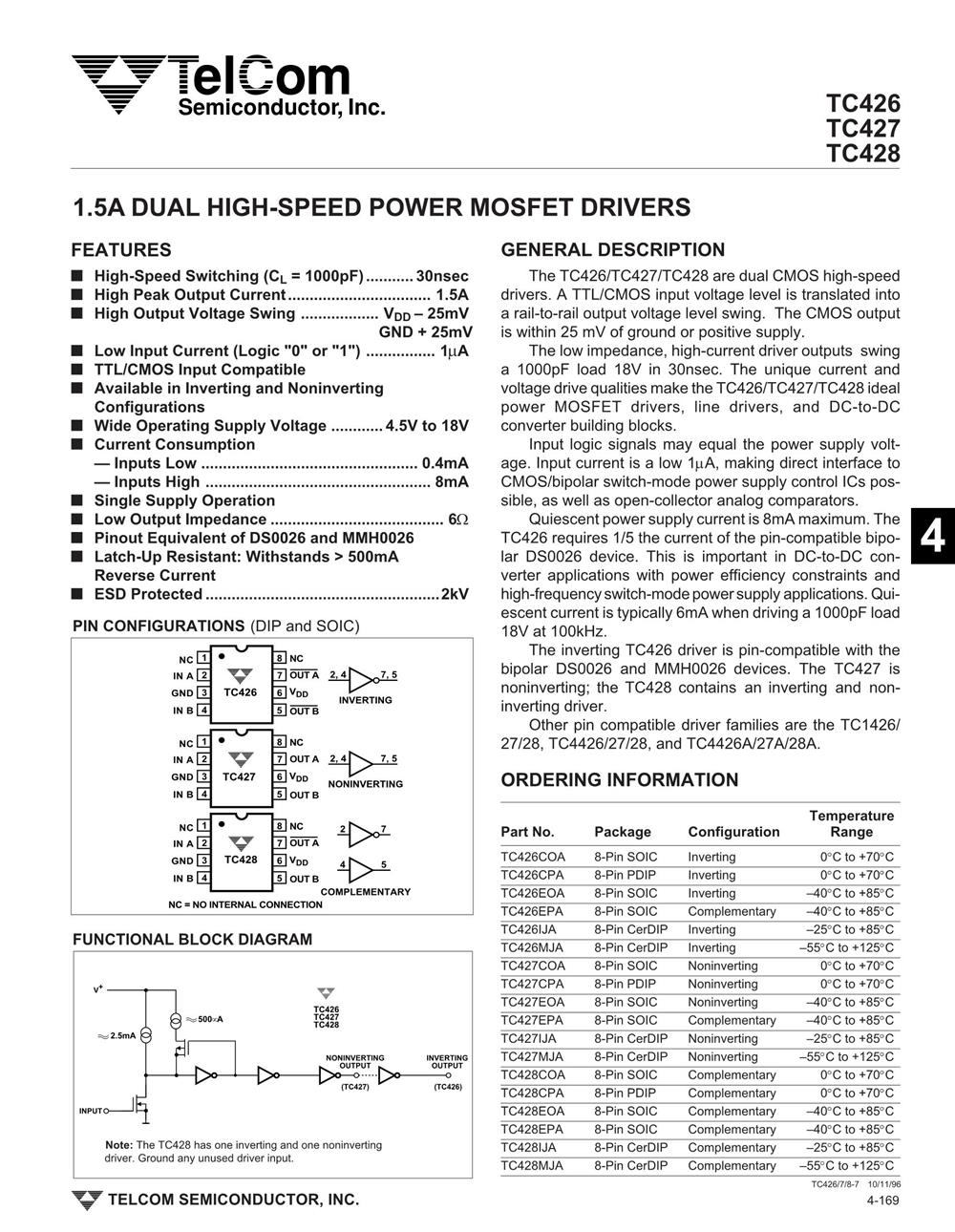 TC426CPA's pdf picture 1