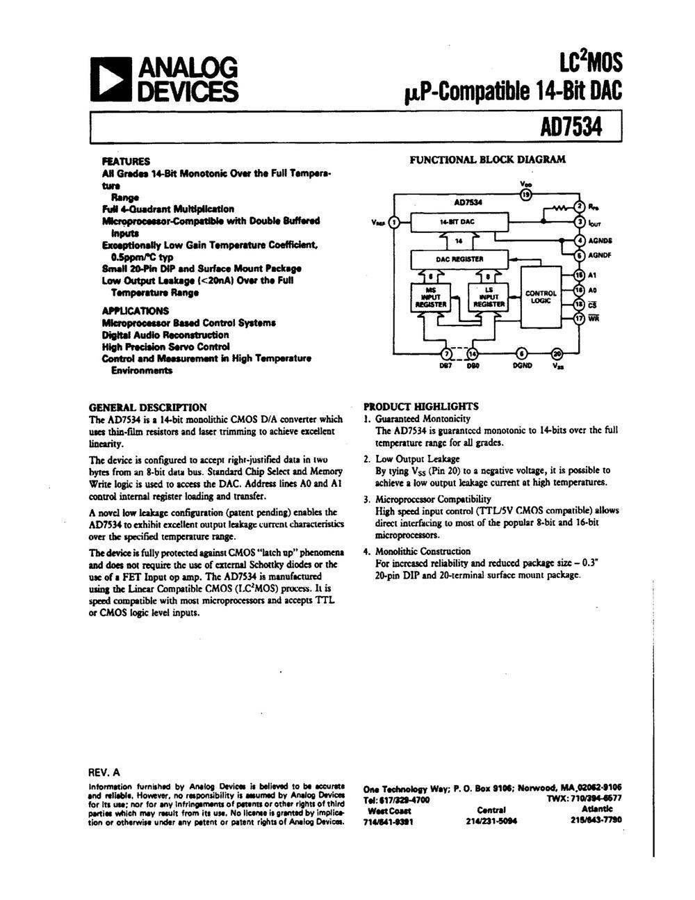 AD7534JN's pdf picture 1