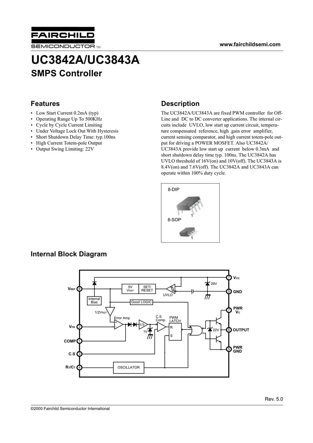 UC3843AN's pdf picture 1