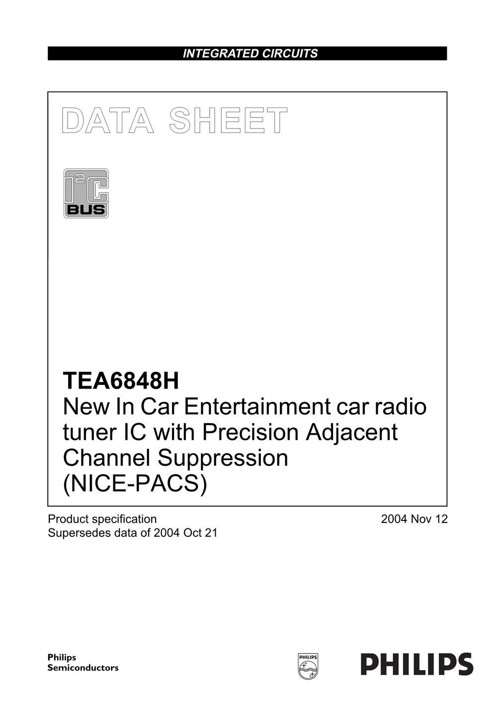 TEA6848H's pdf picture 1