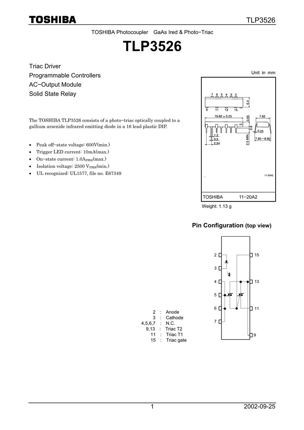 TLP3526's pdf picture 1