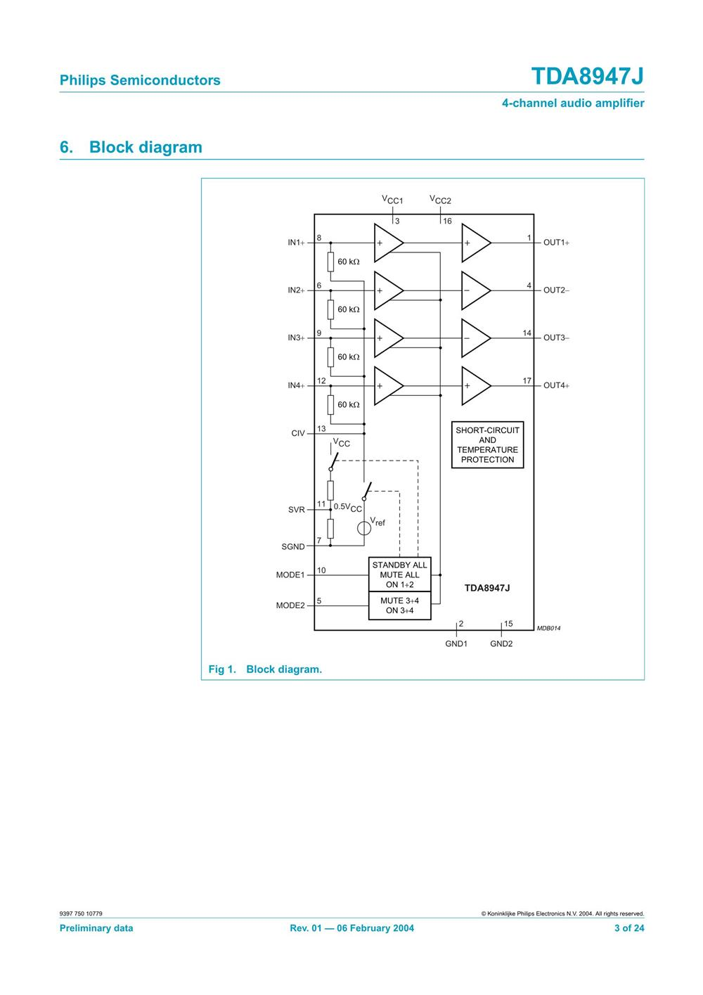TDA8947J's pdf picture 3