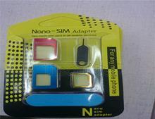 Mobile phone card set sim card set metal general restorer of phone card slot cato apple 5 s small card turn 6 calories