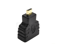 Miniature MicroHDMI turn HDMI standard cell phone mirco - HDMI turn HDMI connector miniature standard