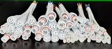 White 4 core waterproof LED power supply plug connector male female connector cable car outdoor lamps and lanterns < male female pair >