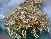 Small car accessories/copper terminal connector(6.3)/3KY-20PCS 20 Pcs 6.3mm Stud Brass Female Cable Crimp Terminal Connector