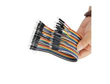 40pcs 20cm 1p-1p male to male jumper wire Dupont cable