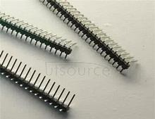 At 90 degrees ordinary needle single bent elbow the single needle 40 single pin 2.54 mm spacing pin 5 PCS > <