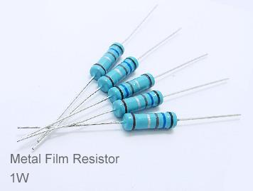 (20pcs) DIP Metal Film Resistor 1% 1W 1.1M