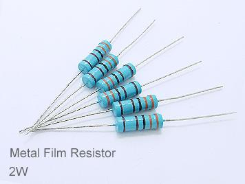 (20pcs) DIP Metal Film Resistor 1% 2W 150Ω(150R)