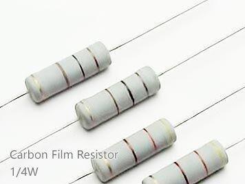 (20pcs) DIP Carbon Film Resistor 5% 1/4W 27K