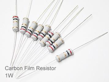 (20pcs) DIP Carbon Film Resistor 5% 1W 47Ω(47R)