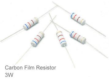 (20pcs) DIP Carbon Film Resistor 5% 3W 10Ω(10R)
