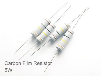 (20pcs) DIP Carbon Film Resistor 5% 5W 27Ω(27R)