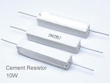 (5pcs) DIP Ceramic Resistor 5% 10W 6.8K