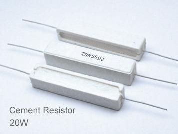 (5pcs) DIP Ceramic Resistor 5% 20W 0.1Ω(0.1R)