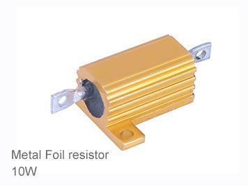 (1pcs) DIP Aluminium Clad Power Resistor 5% 10W 470Ω(470R)