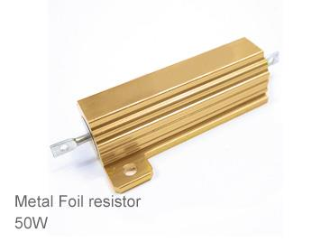 (1pcs) DIP Aluminium Clad Power Resistor 5% 50W 12Ω(12R)