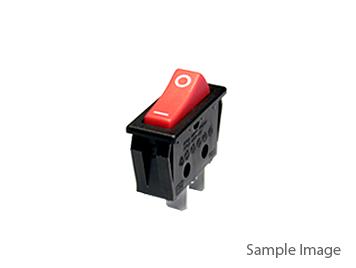 KCD11 117S Small Rocker Switch Black Two Pins 8.5*13.5mm (10pcs)