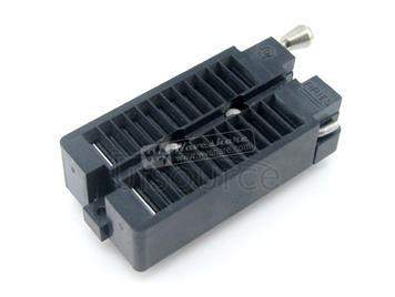 DIP 24 Pin ZIF Socket (ARIES Black), Test & Burn-in Socket