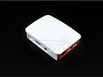 Official Raspberry Pi case, red/white