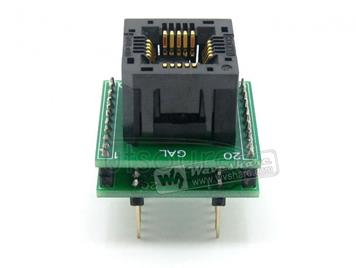 PLCC20 TO DIP20, Programmer Adapter
