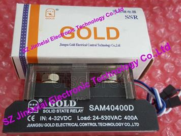 New and original SAM40400D GOLD  Industrial solid state relay  SSR RELAY  4-32VDC, 24-530VAC  400A