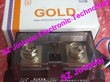100% New and original  SAM40150D  GOLD  Single-phase industrial solid state relay  SSR   150A  24-480V   4-32VDC