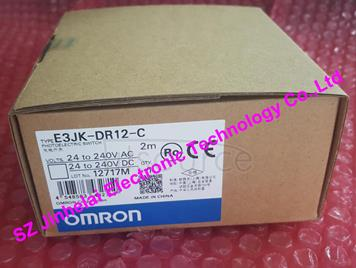 New and original E3JK-DR12-C  OMRON Photoelectric switch 2M  24-240VAC/24-240VDC