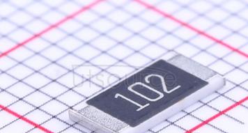 chip resistance  2512J1K MARKING CODE 102