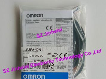New and original E3FA-DN11  OMRON  Cylindrical photoelectric switch   2M  10-30VDC
