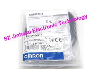 New and original E3FA-DN15  OMRON Photoelectric switch 10-30VDC 2M