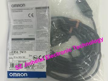 New and original E3FA-TN11  OMRON Photoelectric sensor  10-30VDC  2M