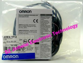 New and original E3FA-TP12  OMRON Photoelectric sensor  10-30VDC  2M