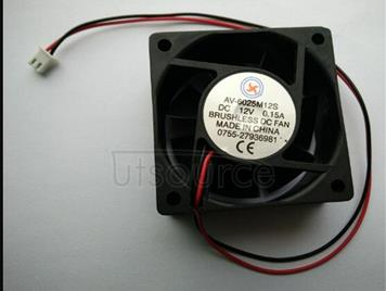6025 a cooling fan 6 cm CPU fan oil/bearing, 12 v