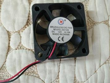 5010 a cooling fan 5 cm mute fan oil/bearing, 12 v,