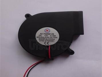 Fan (fan) 7525 oil/bearing 12 v,