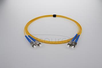 30m (98ft) FC APC to FC APC Simplex 2.0mm PVC(OFNR) 9/125 Single Mode Fiber Patch Cable
