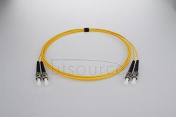 1m (3ft) ST APC to ST APC Simplex 2.0mm PVC(OFNR) 9/125 Single Mode Fiber Patch Cable